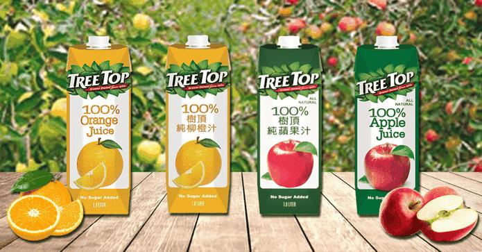 大樹頂100%純蘋果汁