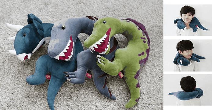 韓國恐龍造型枕