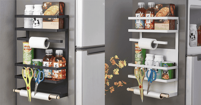 耐重廚房家電冰箱收納架