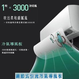 升級調節冷氣引流空調板