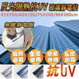 抗UV防窺無膠靜電玻璃貼