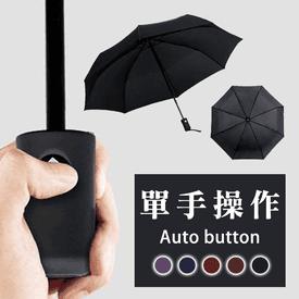 大無敵抗強風自動摺疊傘