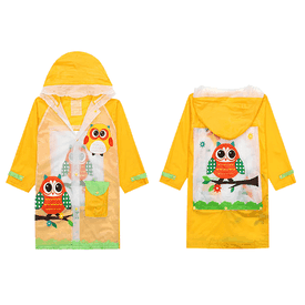 兒童環保卡通造型雨衣