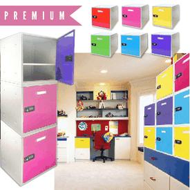 MIT多彩DIY組合收納鐵櫃
