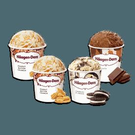 濃脆花生醬品脫冰淇淋組