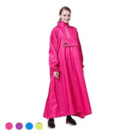 男女兩用半開式背包雨衣