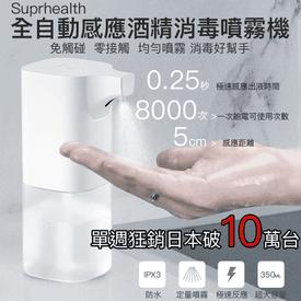 自動感應酒精專用噴霧機