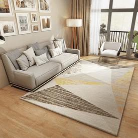 法蘭絨簡約客廳沙發地毯