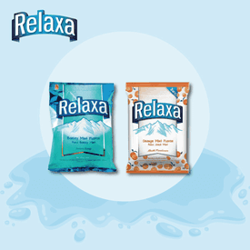 Relaxa原味橘子味薄荷糖