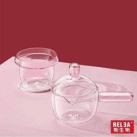 浮光彩色耐熱玻璃壺