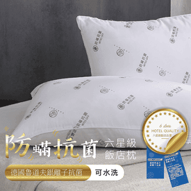 BEST五星飯店水洗枕系列