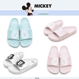 迪士尼俏皮米奇休閒拖鞋