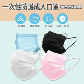 防護彩色超薄口罩