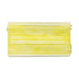 彩色三層拋棄式口罩