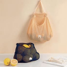 掛式環保蔬果網袋購物袋
