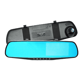 雙鏡頭後視鏡行車紀錄器