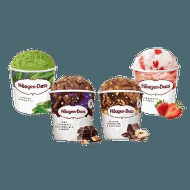 奢華巧克力品脫冰淇淋組