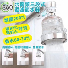 360度增壓過濾省水器