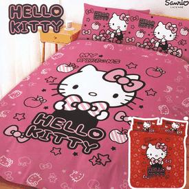 凱蒂貓床包枕套/被套組