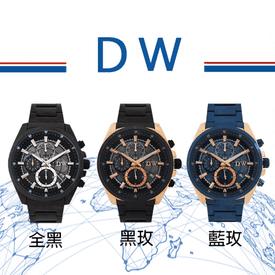 環遊地球真三眼鐵帶手錶