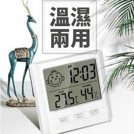 溫控立掛式電子溫濕度計