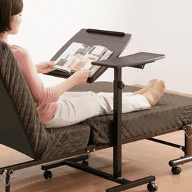 雙面邊桌升降筆電工作桌