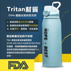 美國tritan運動大水壺
