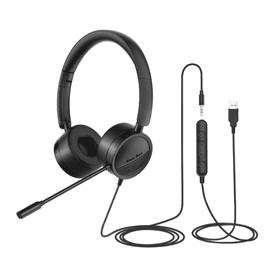 USB二合一專業降噪耳麥