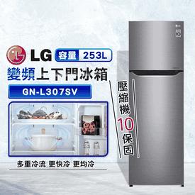 LG253L變頻雙門冰箱