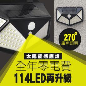 零電費LED太陽能感應燈