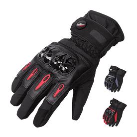 防風雨保暖觸控機車手套