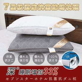 七星級飯店抗菌防蟎枕頭