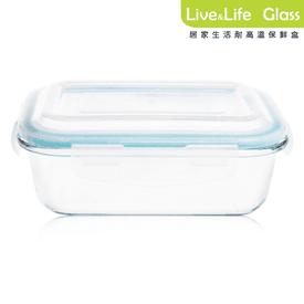 耐高溫玻璃保鮮盒