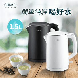 CHIMEI不鏽鋼1.5L快煮壺
