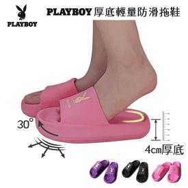 經典厚底輕量防滑拖鞋