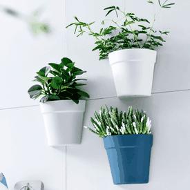 北歐風壁掛式植物花盆栽
