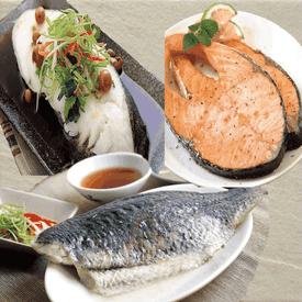 大規格扁鱈鮭魚鱸魚任選