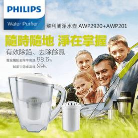 飛利浦3.5L四重濾水壺