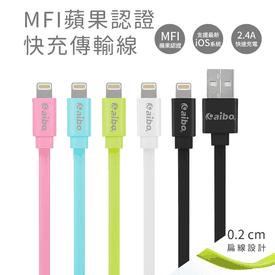 MFI蘋果認證快充傳輸線
