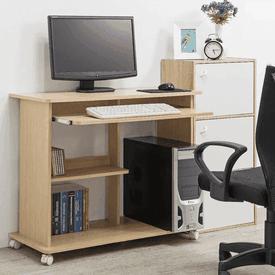 多層附鍵盤架電腦書桌