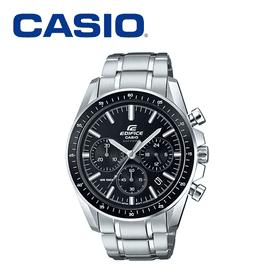 CASIO真三眼鋼帶手錶