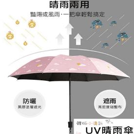 抗UV防曬防風兩用晴雨傘