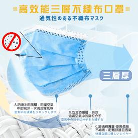 台灣製三層超強防護口罩