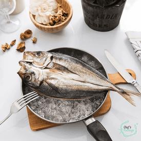 台灣薄鹽竹筴魚一夜干