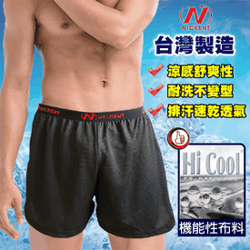 台灣製吸濕排汗男內褲