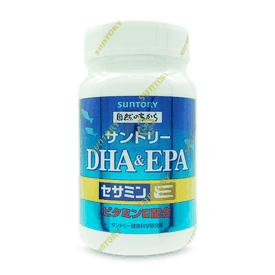 Suntory魚油DHA芝麻明E