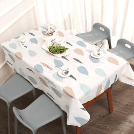 日系清新印花防水桌巾