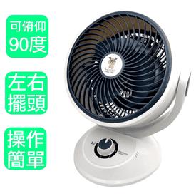藍普諾10吋超廣角循環扇