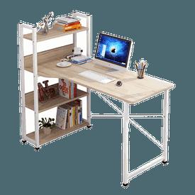 快速組裝側櫃書架桌