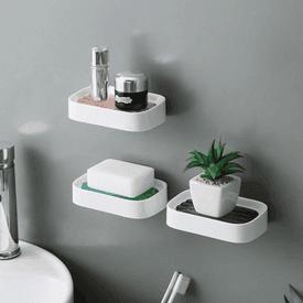 雙流瀝水肥皂架